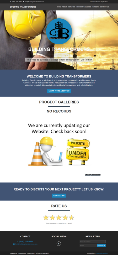 building transformers